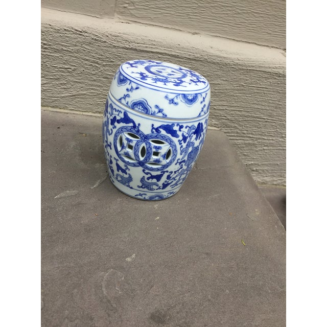 Ceramic 1960's Vintage Chinoiserie Garden Seat or Ginger Jar For Sale - Image 7 of 7