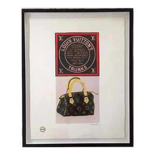 Framed Louis Vuitton Artwork