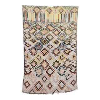"Boujad Vintage Moroccan Rug, 5'9"" X 8'9"" For Sale"