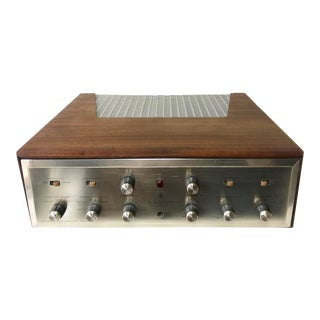 1960's Vintage MCM Hh Scott Integrated Tube Amplifier 222c