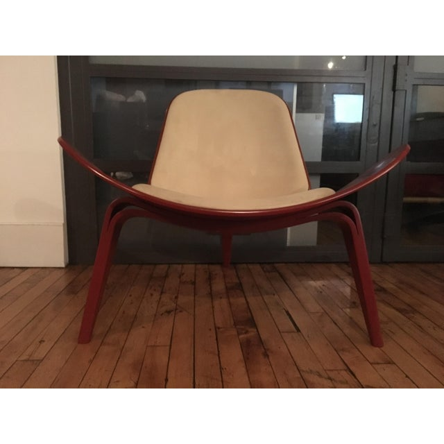 2000 - 2009 Modern Carl Hansen & Son Ch07 Shell Chairs - A Pair For Sale - Image 5 of 10