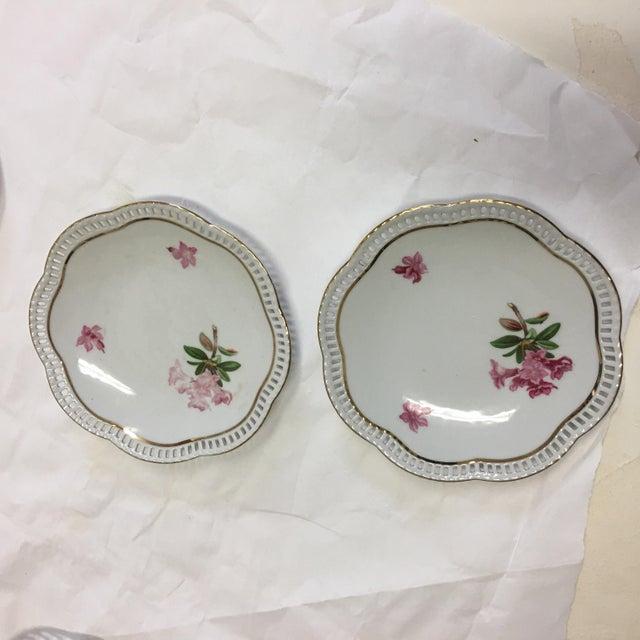 Bavaria Schumann Porcelain Floral Plates - Set of 3 For Sale - Image 5 of 9