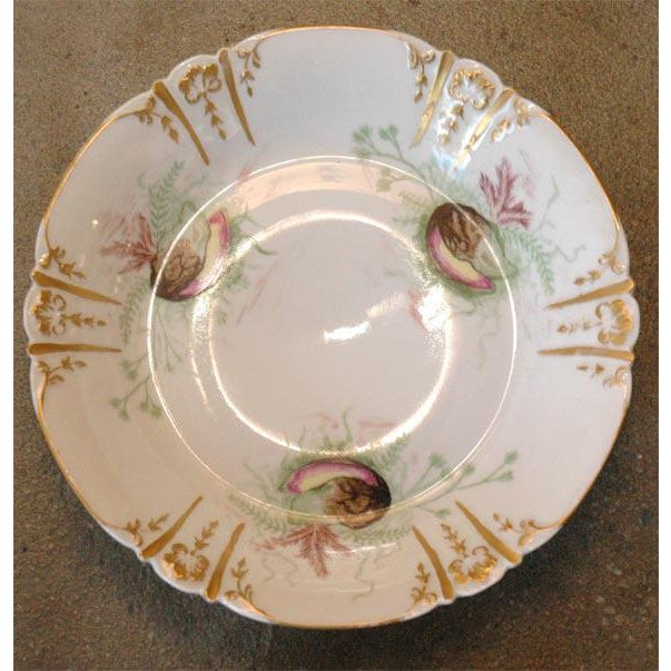 Shell Decorated Dishes - Set of 6 For Sale In Los Angeles - Image 6 of 9