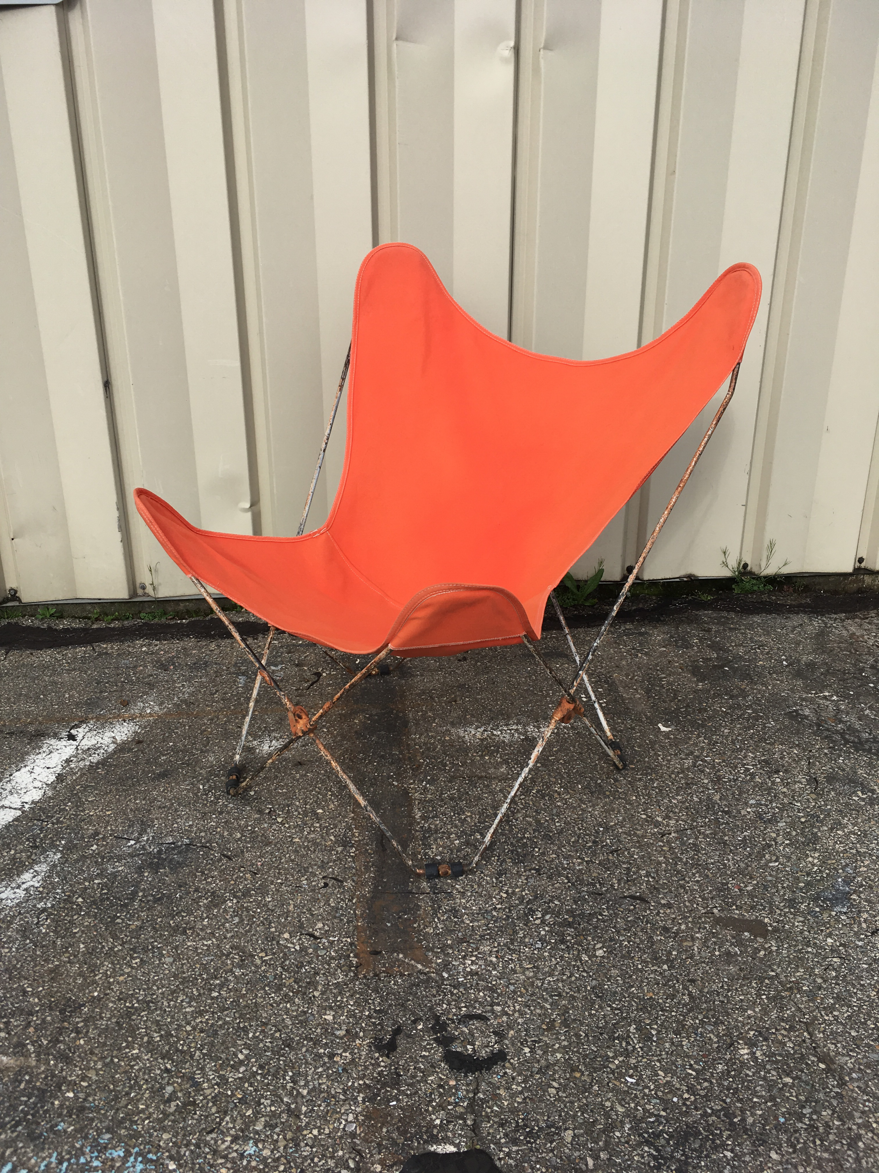 Delightful 1950s Mid Century Butterfly Chair   Image 5 Of 11
