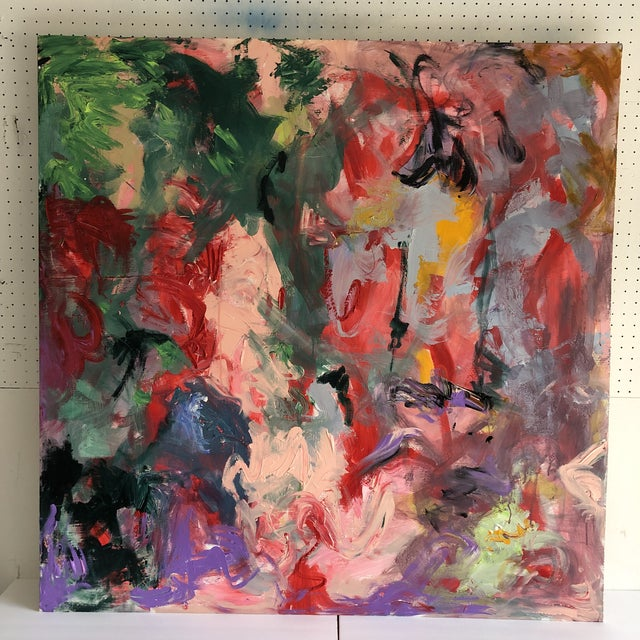 Abstract by Erik Sulander on Wood/Acrylic 48 X48 For Sale In New York - Image 6 of 6