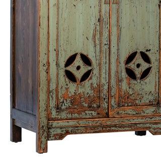 Vintage Green Village Cabinet Preview