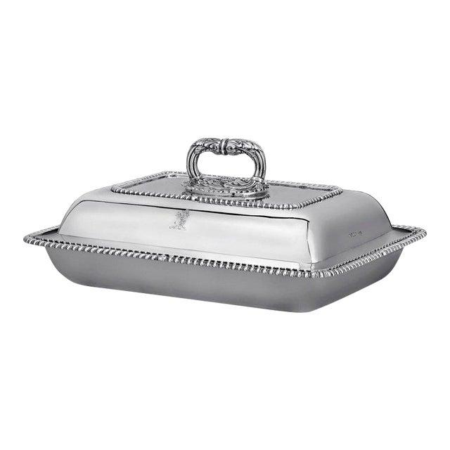 Regency Silver Entrée Dish by Paul Storr For Sale