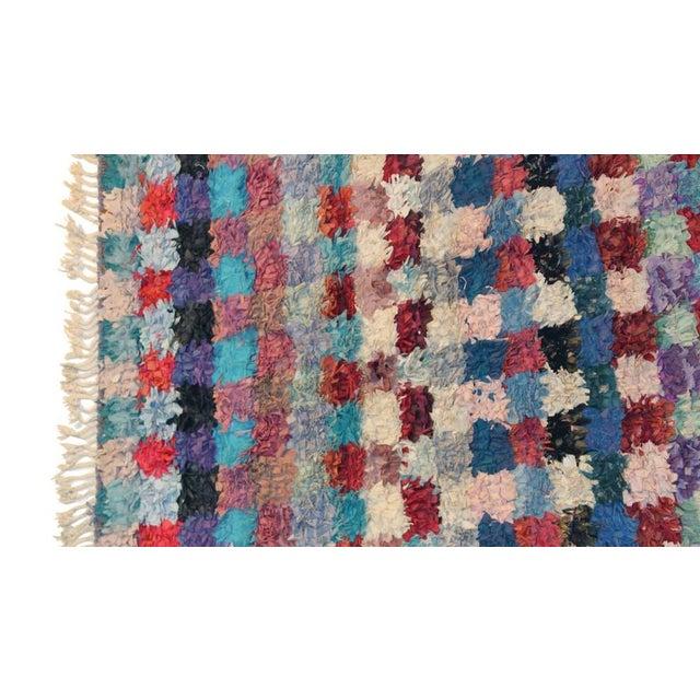 """Vintage Boucherouite Carpet - 9'2"""" X 4'1"""" - Image 2 of 4"""