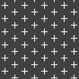 Addition Black Jet Reverse Peel & Stick Wallpaper For Sale