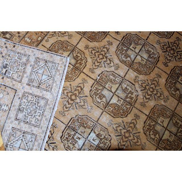 Textile 1900s Handmade Antique Uzbek Khotan Rug 6.2' X 12.10' For Sale - Image 7 of 10