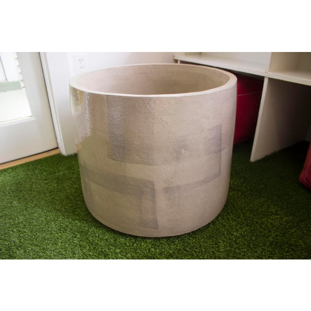XL Brussels Ceramic Planter For Sale - Image 4 of 8