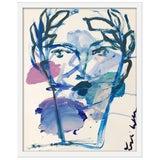 "Image of Medium ""Roman Face"" Print by Leslie Weaver, 19"" X 24"" For Sale"