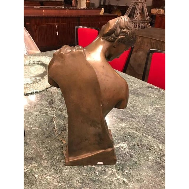Bronze Roman Style Continental Bronze Sculpture For Sale - Image 7 of 9