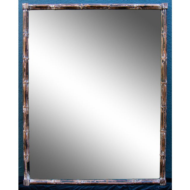 1960s Mid-Century Modern Mirror For Sale - Image 5 of 5