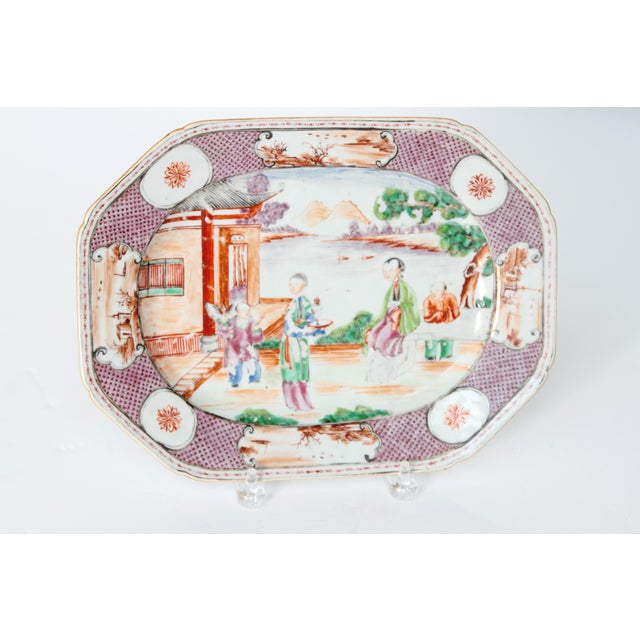 Chinese Export / Manderin Palette Platter For Sale In Dallas - Image 6 of 12