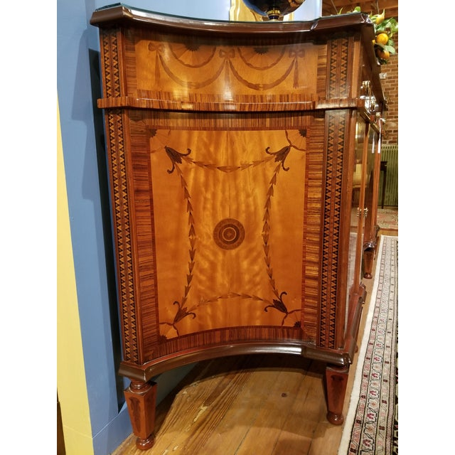 David Michael English Style Sideboard From Winston Churchill Suite of Waldorf Astoria For Sale - Image 10 of 13