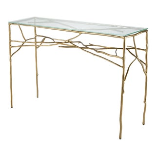 Brass Branch Console Table | Eichholtz Antico For Sale