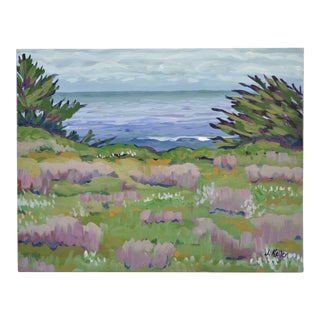 Ocean Vista Acrylic Painting