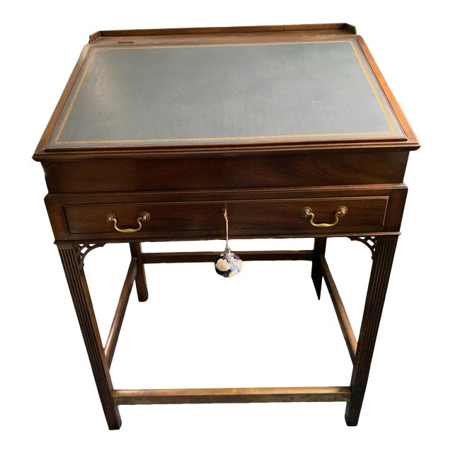 1980s American Classical Kittinger Stand Up Desk For Sale
