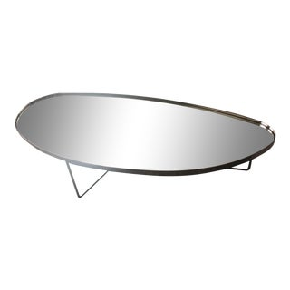 Modern Italian Mirrored Coffee Table For Sale