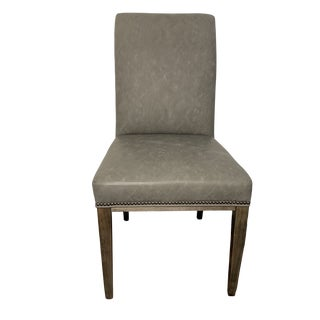 Vanguard Furniture Gray Side Chair For Sale