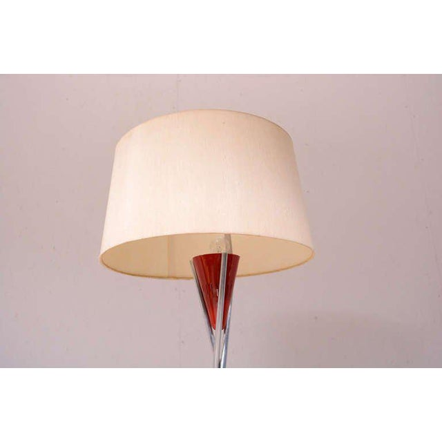 Modern Mid Century Modern Tripod Floor Lamp For Sale - Image 3 of 9