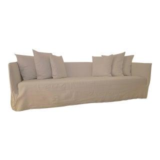 Paola Navone Gervasoni White Sofa For Sale