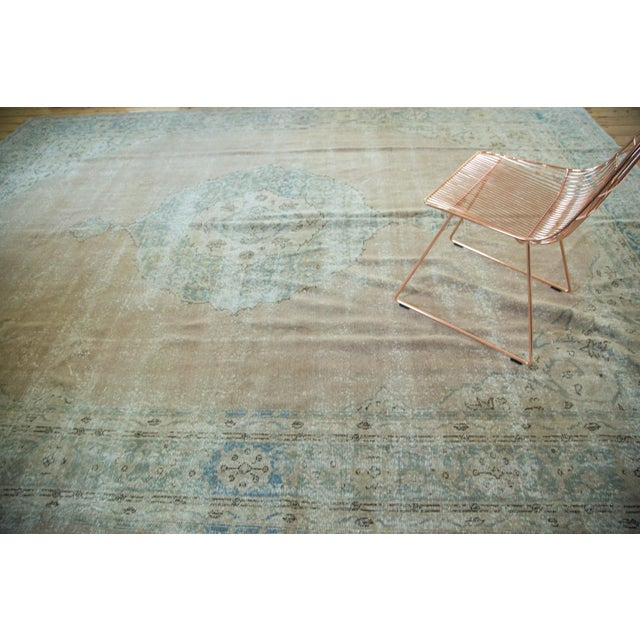 "Vintage Turkish Oushak Carpet - 9'6"" x 13' - Image 2 of 8"