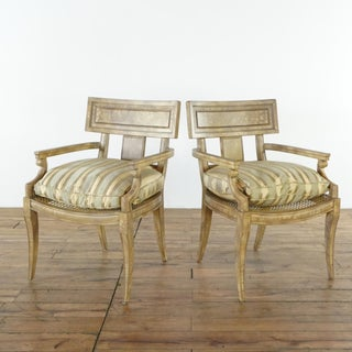 Vintage French Empire Style Armchairs- A Pair Preview