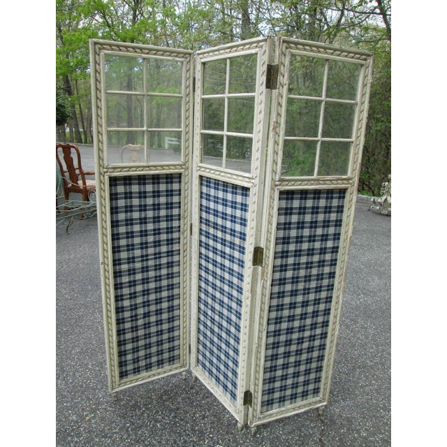Farmhouse 3 Panel Screen Room Divider - Image 2 of 6