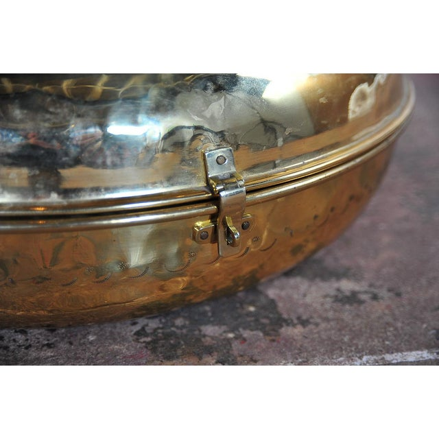 Antique 19th Century Brass Foot Warmer - Image 7 of 11