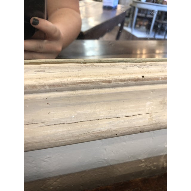Antique French Trumeau Mirror For Sale - Image 12 of 13