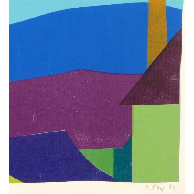 Modern Pöggstall Roofs Fine Art Lithograph For Sale - Image 3 of 5