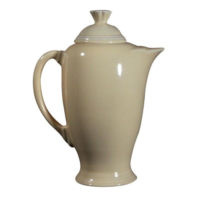 Vintage Fiesta Ware Sunflower Yellow Coffee Pot - Image 1 of 7