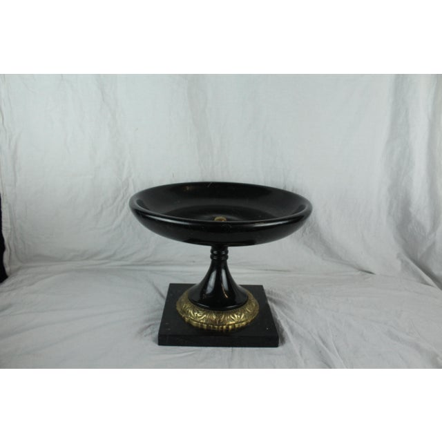Vintage Mid-Century Marble Urn For Sale - Image 4 of 8
