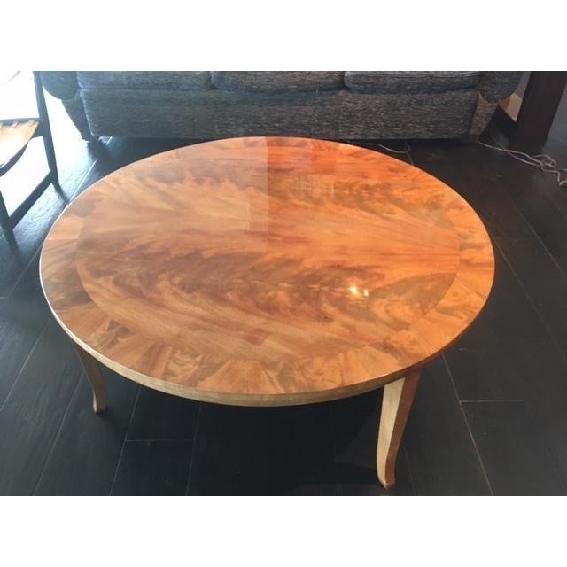 Stunning Round Coffee Table - Image 3 of 8