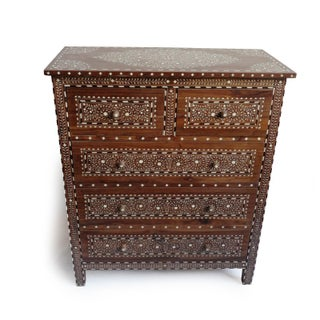Inlay Wood Dresser Preview