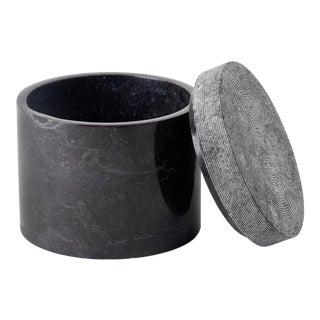 Crosby Cotton Jar, Black/Grey For Sale