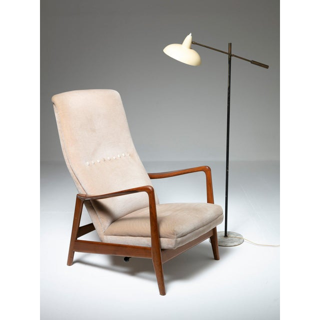 Fabric Lounge Chair by Arnestad Bruk for Cassina For Sale - Image 7 of 8
