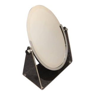 Acrylic and Chrome Vanity Mirror by Charles Hollis Jones For Sale