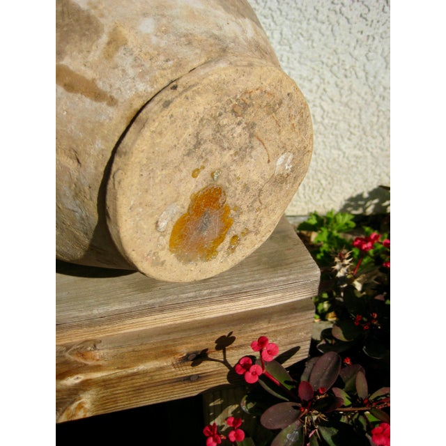 19th Century Country French Rustic Yellow Pot For Sale - Image 6 of 12