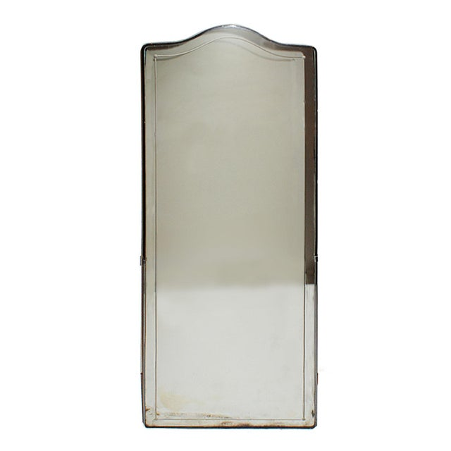 Traditional Late 20th Century Metal and Glass Medicine Cabinet For Sale - Image 3 of 3