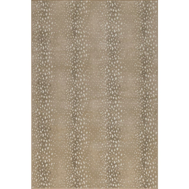Playfully luxurious, yet timeless in style. Let this iconic animal print rug dazzle with organic pops and a deep neutral...