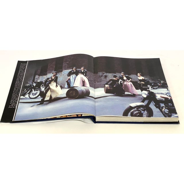 """""""On the Edge: Images From 100 Years of Vogue"""" Book 1st Edition 1992 Design Center Sample Copy For Sale - Image 9 of 12"""