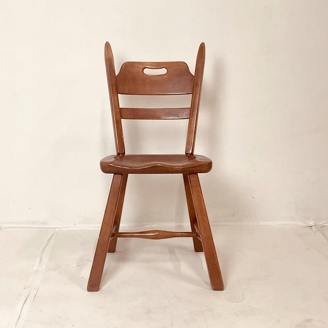 Cushman Vermont Maple Dining Chairs by Herman DeVries - Set of 6 For Sale - Image 10 of 13