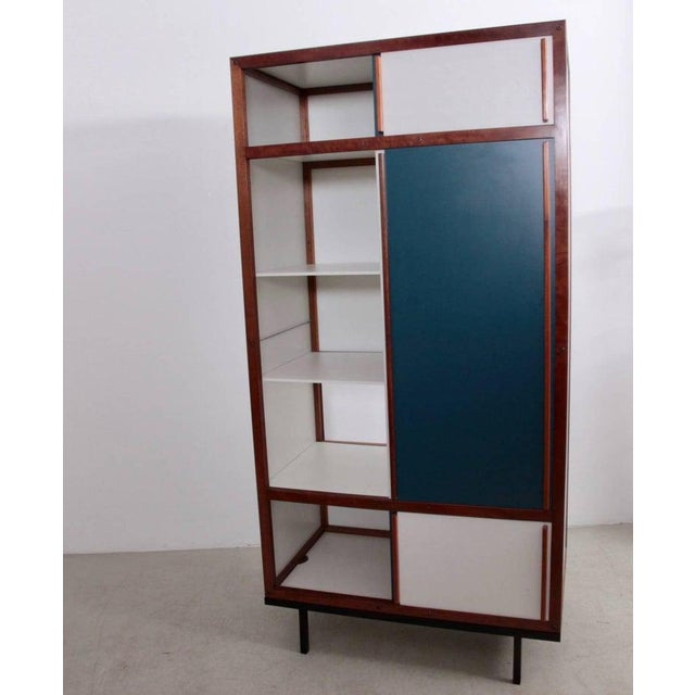Mid-Century Modern Andre Sornay Cabinet in Restored Condition For Sale - Image 3 of 6