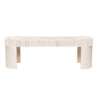 Customizable Peg Woodworking Euclid Bench For Sale
