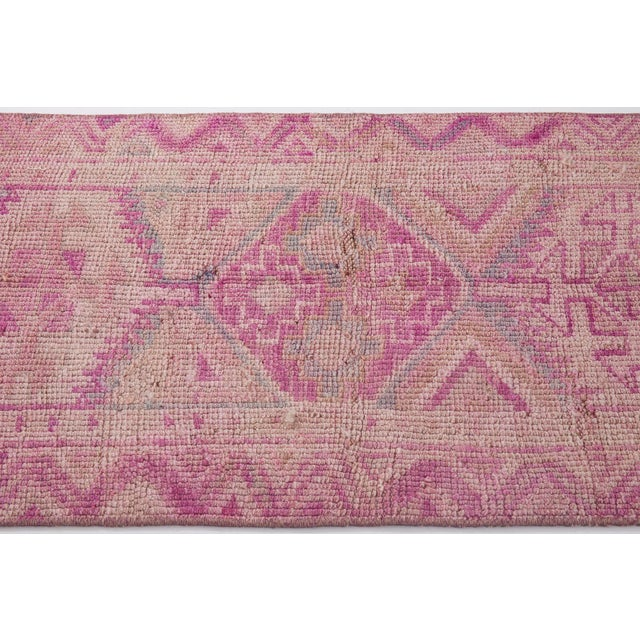 1960s Vintage Turkish Herki Runner Rug - 2′4″ × 8′8″ For Sale - Image 4 of 6