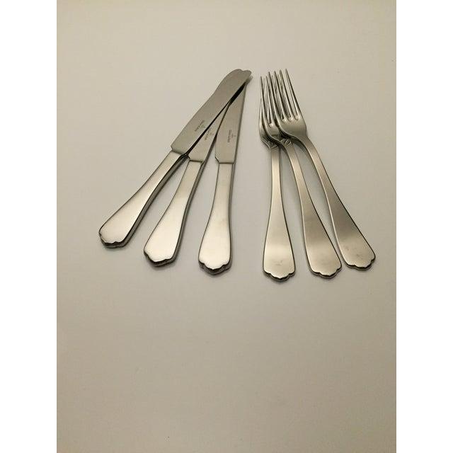 Villeroy & Boch Medina Stainless Steel Flatware - Set of 6 For Sale - Image 5 of 5
