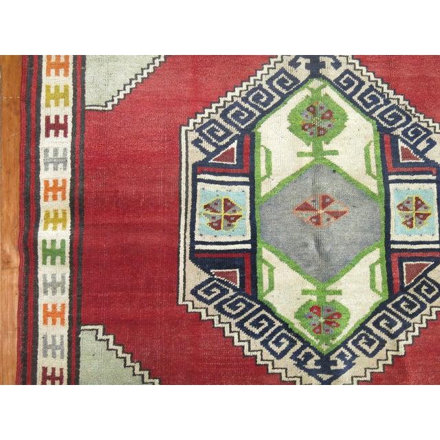 "Vintage Turkish Konya Rug - 4'6"" x 6'4"" For Sale - Image 4 of 7"